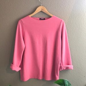 ZARA bubblegum pink sweater